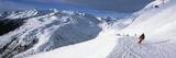 Tourists Skiing in a Ski Resort, Sankt Anton Am Arlberg, Tyrol, Austria Lámina fotográfica por Panoramic Images,
