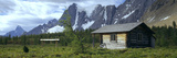 Warden Cabin on a Landscape, Wolverine Pass, Kootenay National Park, British Columbia, Canada Photographic Print by  Panoramic Images