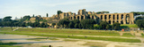 Ruins of an Amphitheater, Parco Del Circo Massimo, Palatine Hill, Rome, Italy Photographic Print by  Panoramic Images