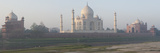 Mausoleum at the Riverside, Taj Mahal, Yamuna River, Agra, Uttar Pradesh, India Photographic Print by  Panoramic Images