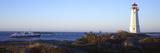 Lighthouse at the Coast, Louisbourg Lighthouse, Fortress Louisbourg, Cape Breton Island, Nova Sc... Photographic Print by  Panoramic Images