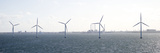 Wind Turbines in the Sea, Copenhagen, Denmark Photographic Print by Panoramic Images