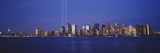 Tribute in Light, World Trade Center, Lower Manhattan, Manhattan, New York City, New York State,... Photographic Print by  Panoramic Images