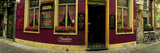 Facade of a Restaurant, Patershol, Ghent, East Flanders, Flemish Region, Belgium Photographic Print by  Panoramic Images