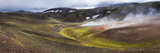 Steam Vents, Rhyolite Mountains, Landmannalaugar, Iceland Photographic Print by  Panoramic Images