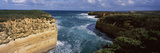 Rock Formations in the Ocean, Loch Ard Gorge, Port Campbell National Park, Great Ocean Road, Vic... Photographic Print by  Panoramic Images