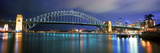 Sydney Harbour Bridge with the Sydney Opera House in the Background, Sydney Harbor, Sydney, New ... Photographie par Panoramic Images