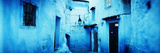 Narrow Streets of the Medina are All Painted Blue, Chefchaouen, Morocco Photographic Print by  Panoramic Images