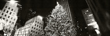Christmas Tree Lit Up at Night, Rockefeller Center, Manhattan, New York City, New York State, USA Photographic Print by  Panoramic Images