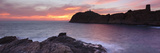 Islands in the Sea, La Pietra, Genoese Tower, Phare De La Pietra, L'Ile-Rousse, Balagne, Corsica... Photographic Print by  Panoramic Images