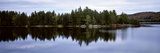 Reflection of Trees on Water in a Lake, Lake of Two Rivers, Algonquin Provincial Park, Ontario, ... Photographic Print by  Panoramic Images