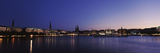 Buildings at the Waterfront, Alster Lake, Hamburg, Germany Photographic Print by  Panoramic Images