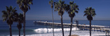 Pier over an Ocean, San Clemente Pier, Los Angeles County, California, USA Photographic Print by  Panoramic Images