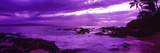 Sunset over the Coast, Makena Beach, Maui, Hawaii, USA Photographic Print by  Panoramic Images