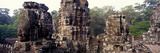 Ruins of a Temple, Bayon Temple, Angkor Thom, Siem Reap, Angkor, Cambodia Photographic Print by  Panoramic Images