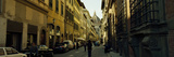 Cars Parked in a Street with a Cathedral in the Background, Via Dei Servi, Duomo Santa Maria Del... Photographic Print by  Panoramic Images