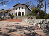 Facade of a Church, Mission San Luis Obispo, San Luis Obispo, San Luis Obispo County, California... Photographic Print by  Panoramic Images