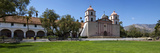 Facade of a Mission, Mission Santa Barbara, Santa Barbara, Santa Barbara County, California, USA Photographic Print by  Panoramic Images