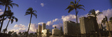 Low Angle View of Skyscrapers, Honolulu, Hawaii, USA 2010 Photographic Print by  Panoramic Images