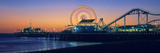 Ferris Wheel on the Pier, Santa Monica Pier, Santa Monica, Los Angeles County, California, USA Photographic Print by  Panoramic Images