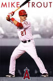 Los Angeles Angels of Anaheim Mike Trout Plakat
