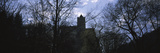 Silhouette of a Castle, Bran Castle, Brasov, Transylvania, Mures County, Romania Photographic Print by  Panoramic Images