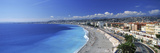 Tourists on the Beach, Nice, Promenade Des Anglais, Provence-Alpes-Cote D'Azur, France Photographic Print by  Panoramic Images