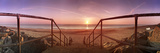 Staircase Leading Towards a Beach, California, Norfolk, England Photographic Print by  Panoramic Images