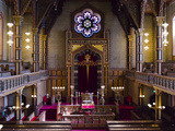 Interiors of a Synagogue, Stockholm Synagogue, Stockholm, Sweden Photographic Print by  Panoramic Images