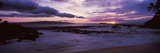 Maui Coast at Sunset, Makena, Maui, Hawaii, USA Photographic Print by  Panoramic Images