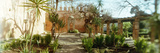 Garden in the Kasbah, Rabat, Morocco Photographic Print by  Panoramic Images