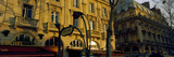 Buildings Along a Street, Boulevard Saint-Michel, Paris, Ile-De-France, France Photographic Print by  Panoramic Images