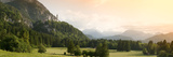 Castle on a Hill, Neuschwanstein Castle, Schwangau, Bavaria, Germany Photographic Print by  Panoramic Images