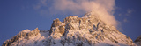 Low Angle View of Snow Covered Mountain, Mt Zugspitze, Bavaria, Germany Photographic Print by  Panoramic Images