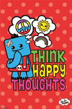 So So Happy - Think Happy Thoughts Print