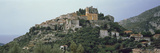 Town on the Mountain Peak, Eze, Alpes-Maritimes, Provence-Alpes-Cote D'Azur, France Photographic Print by  Panoramic Images