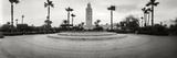 Formal Garden in Front of the Koutoubia Mosque, Marrakesh, Morocco Photographic Print by  Panoramic Images