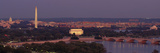 USA, Washington DC, Aerial, Night Photographic Print by  Panoramic Images
