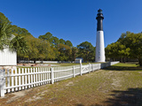 Lighthouse in a Park, Hunting Island State Park, Beaufort, South Carolina, USA Photographic Print by  Panoramic Images
