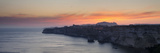 Cliffs on the Coast at Dusk, Bonifacio, Corsica, France Photographic Print by  Panoramic Images