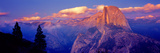 Sunlight Falling on a Mountain, Half Dome, Yosemite Valley, Yosemite National Park, California, USA Photographic Print by  Panoramic Images