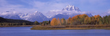 River with Mountains in the Background, Oxbow Bend, Snake River, Grand Teton National Park, Teto... Photographic Print by  Panoramic Images