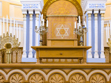 Altar of a Synagogue, Grand Choral Synagogue, St. Petersburg, Russia Photographic Print by  Panoramic Images