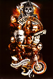 Sons of Anarchy Collage Posters