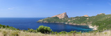 Coastline, Capo Rosso, Piana, Sagone, Corsica, France Photographic Print by  Panoramic Images