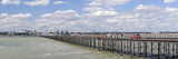 Pleasure Pier at an Estuary, Southend Pier, Southend-On-Sea, Essex, England Photographic Print by  Panoramic Images