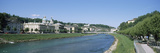 Building at the Riverside, Salzach River, Salzburg, Austria Photographic Print by  Panoramic Images