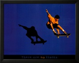 No Limits Skateboarder Plakater