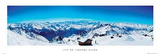 Val Thorens (Mountain Panorama) Prints