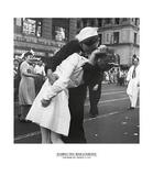 Beso de despedida a la guerra Posters por Victor Jorgensen
